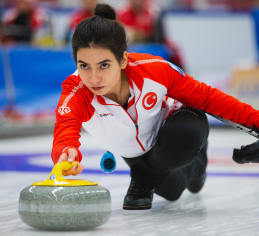Turkey are tied for third place in the women's event ©WCF/Céline Stucki