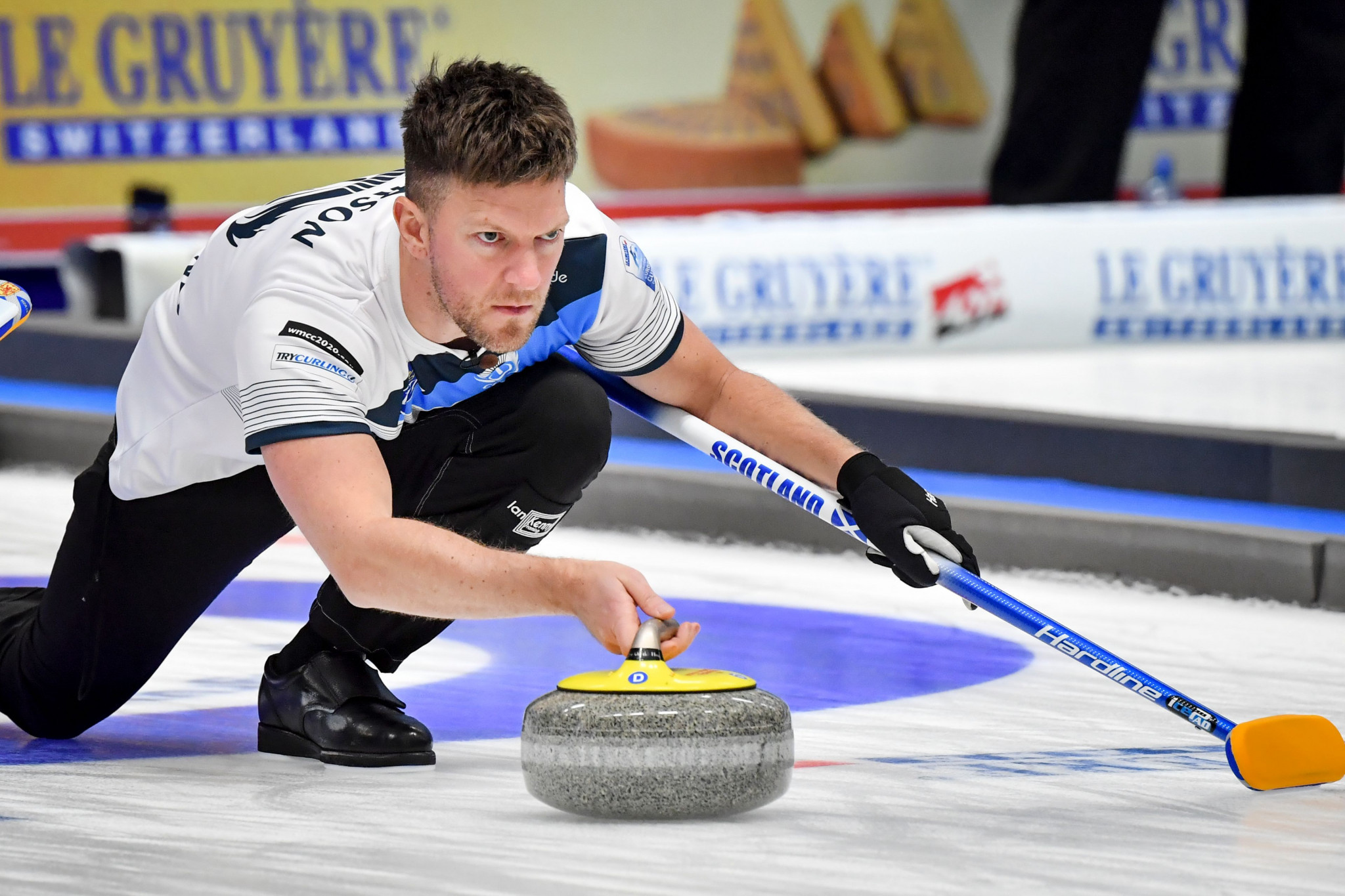 Defending men's champion loses first match at curling's Canadian Open