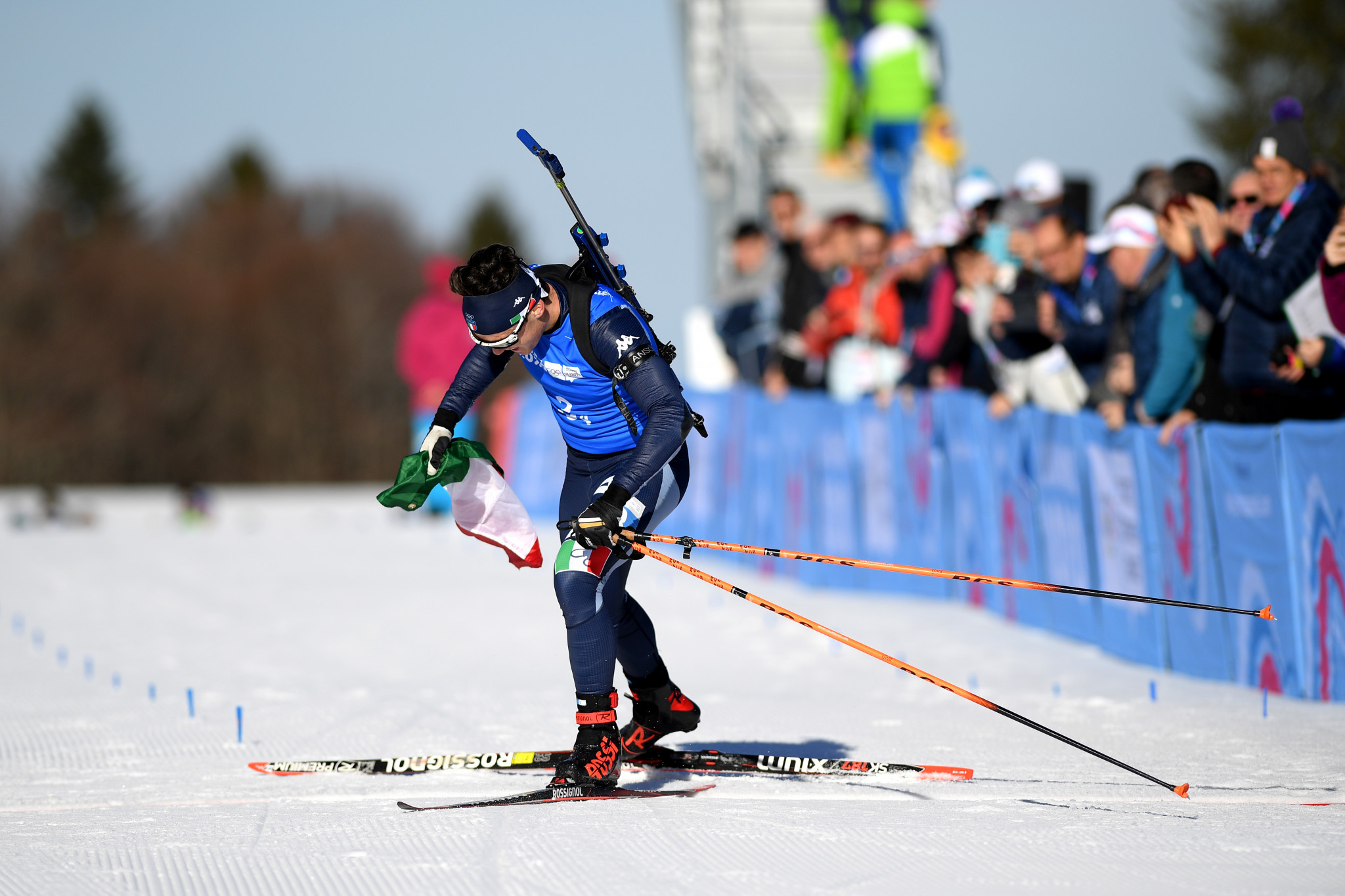 Italy win dramatic mixed relay as biathlon concludes at Lausanne 2020
