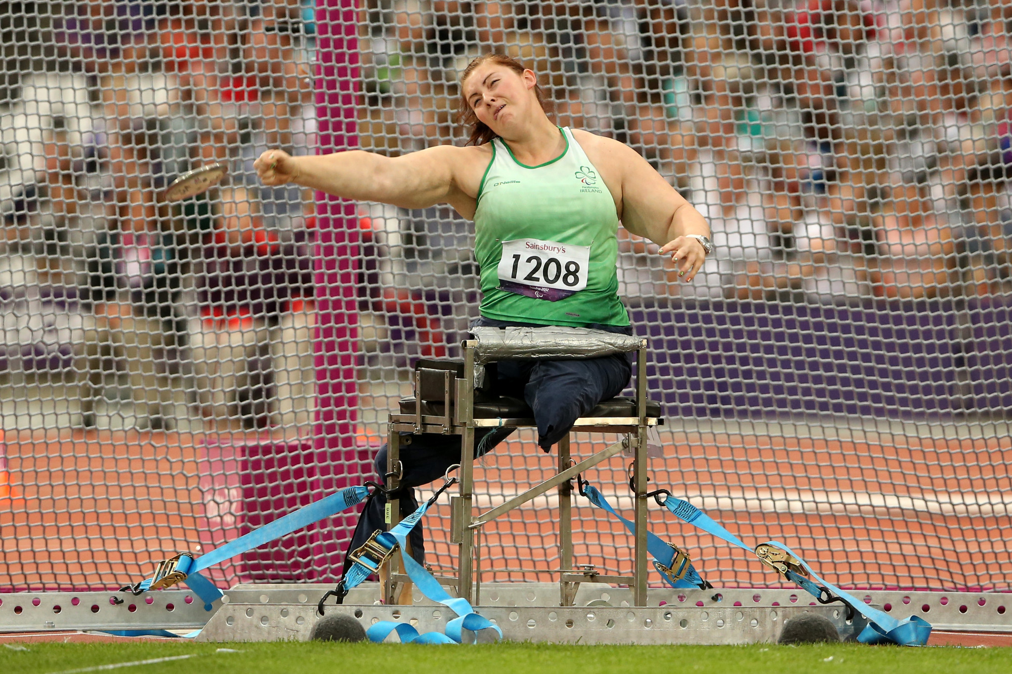 Orla Barry won two Paralympic medals in her career ©Getty Images