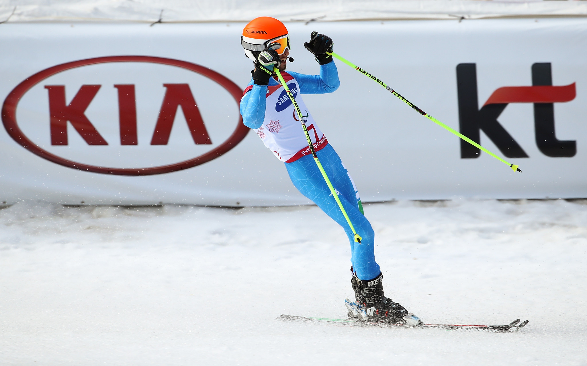 Bertagnolli enjoys home victory at World Para Alpine Skiing World Cup