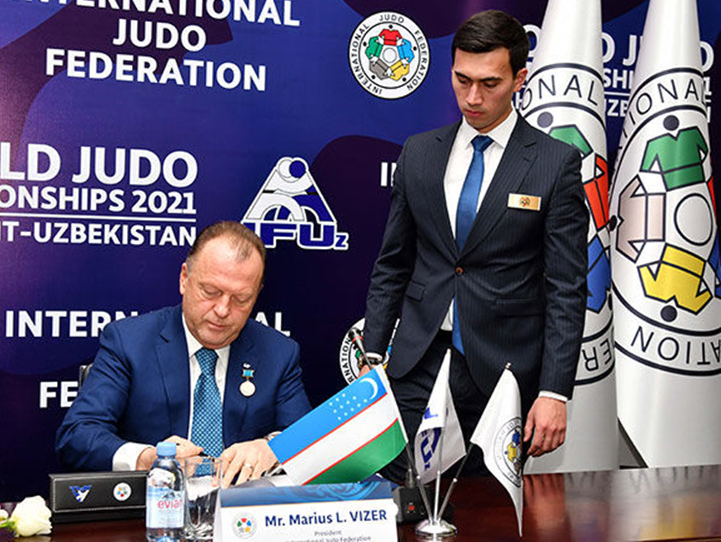 Tashkent has extensive experience of hosting high-quality judo ©IJF