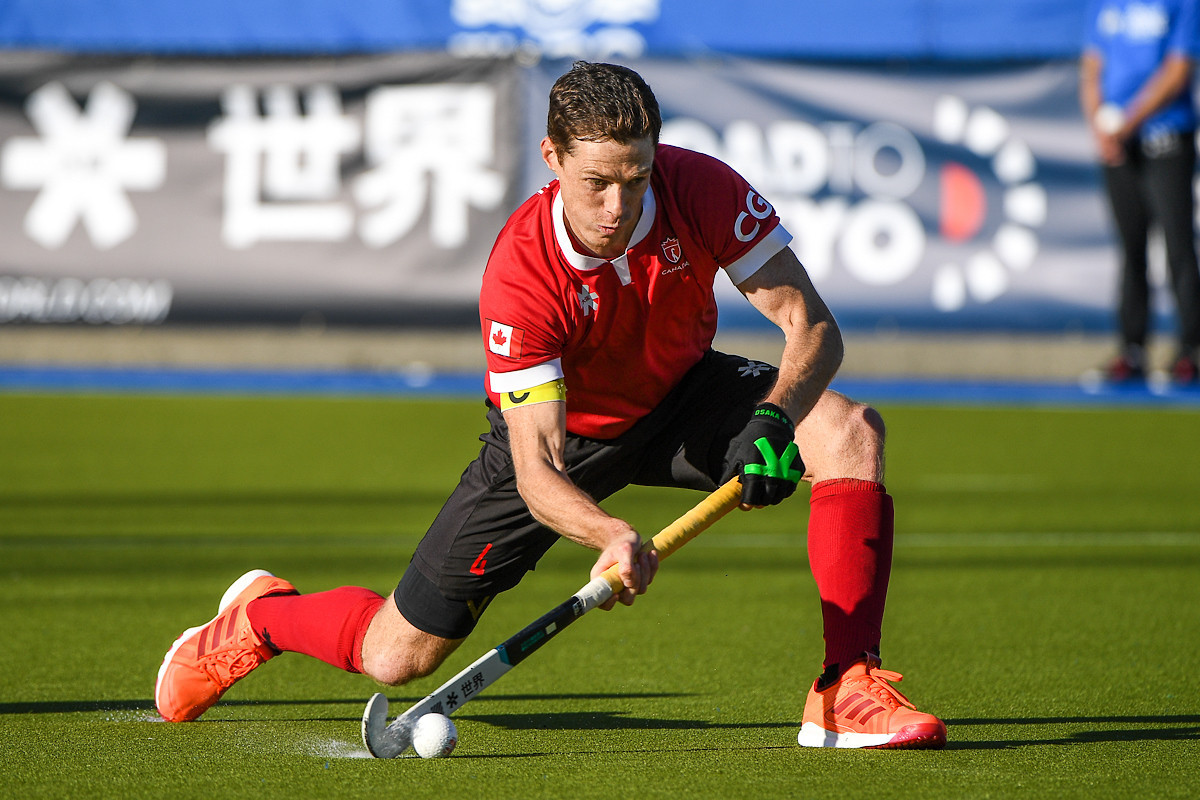 Canada were awarded a penalty stroke by the video umpire in the last second of their Olympic qualifier in November ©FIH