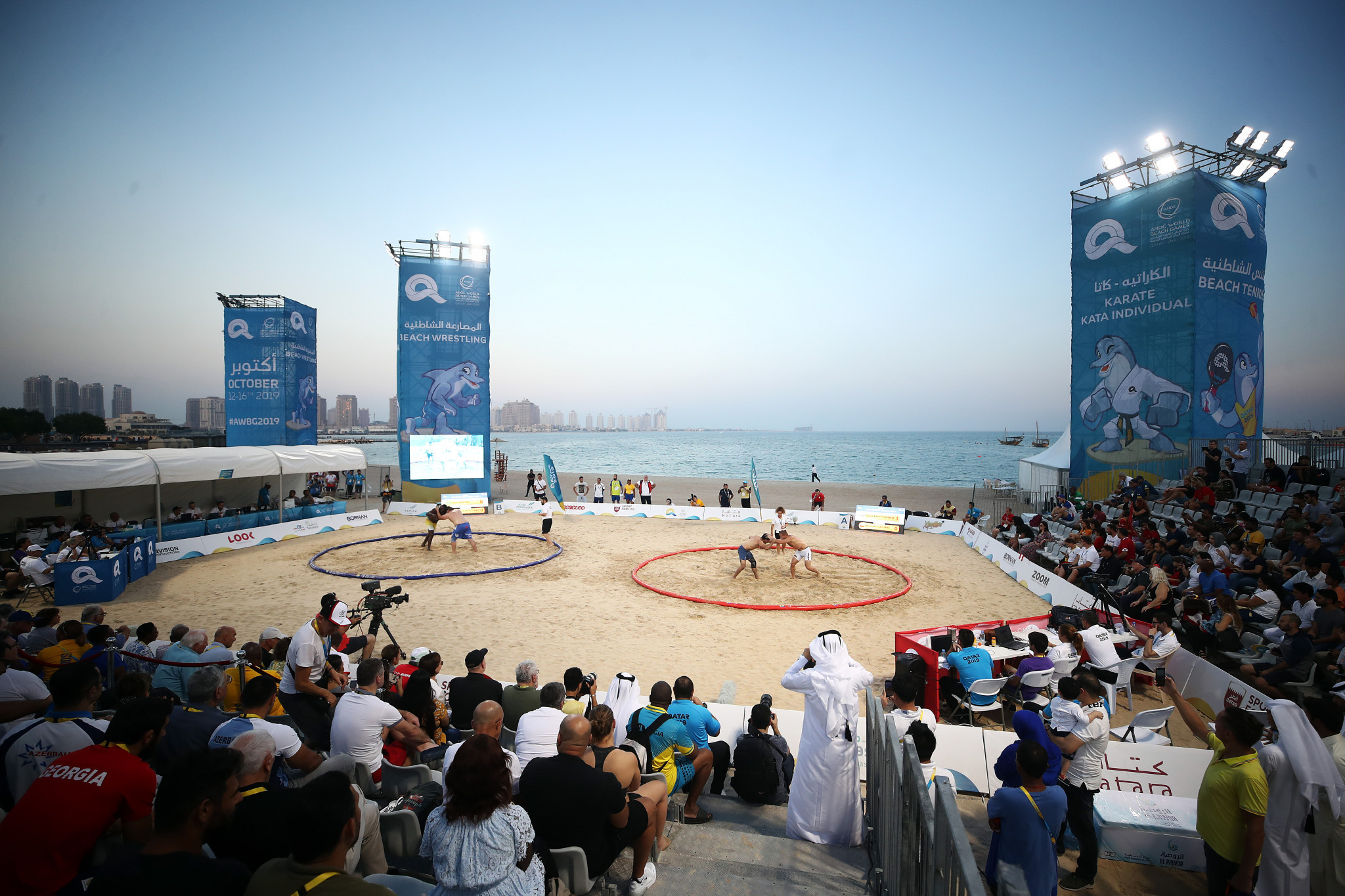 ANOC decided the World Beach Games should continue ©Getty Images