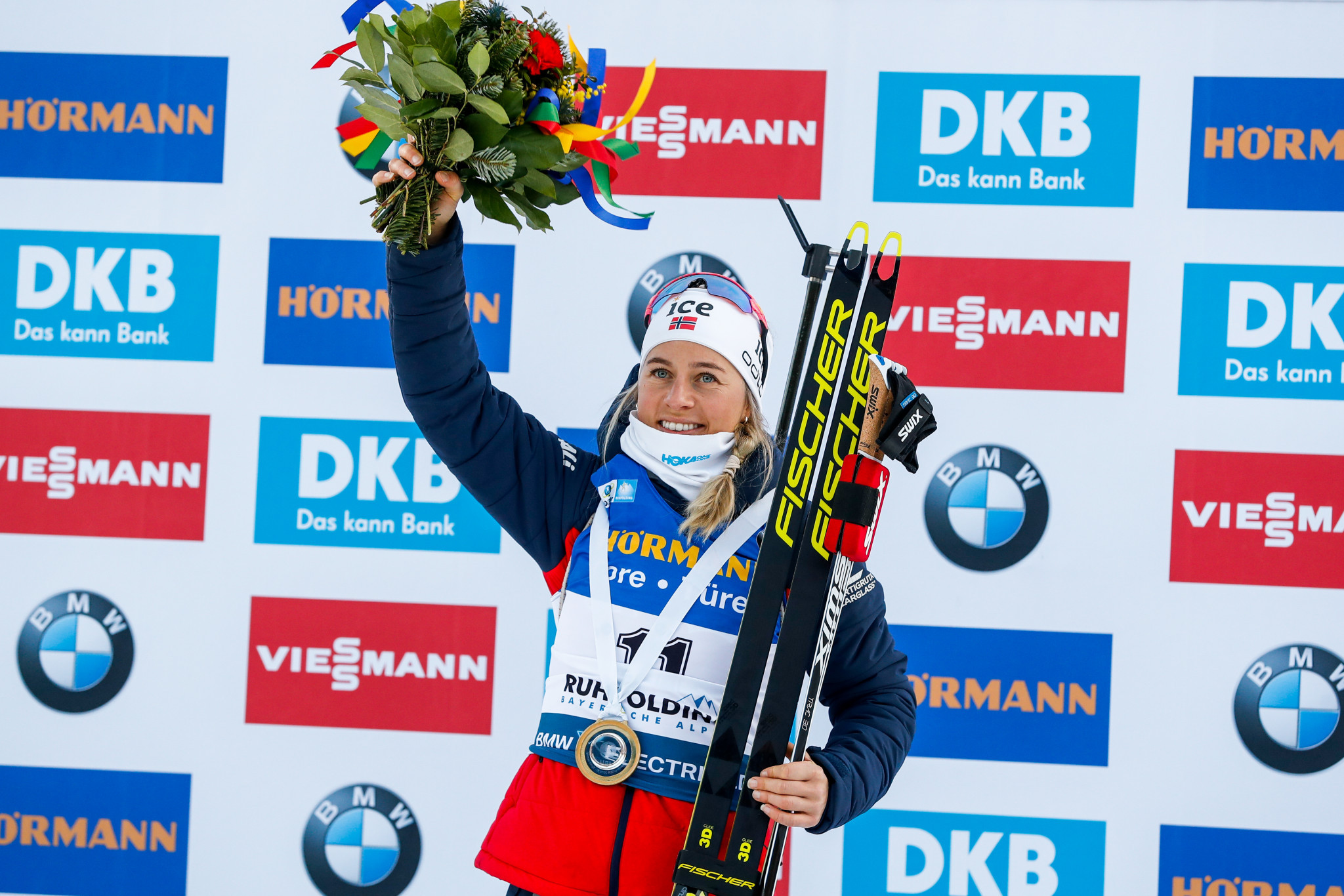 Eckhoff takes IBU World Cup lead in Ruhpolding