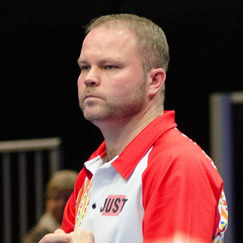 Paul Foster of Scotland progressed to the round of 16 at the World Indoor Bowls Championships ©World Indoor Bowls
