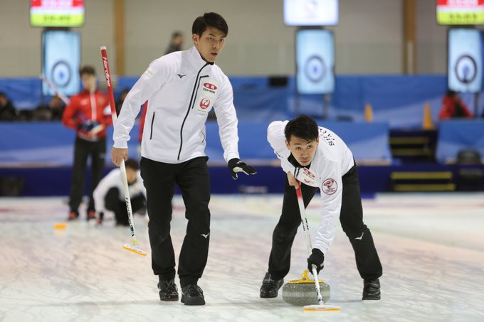 China are one of five teams in the top spot at the WCF World Qualifying event in Lohja ©WCF