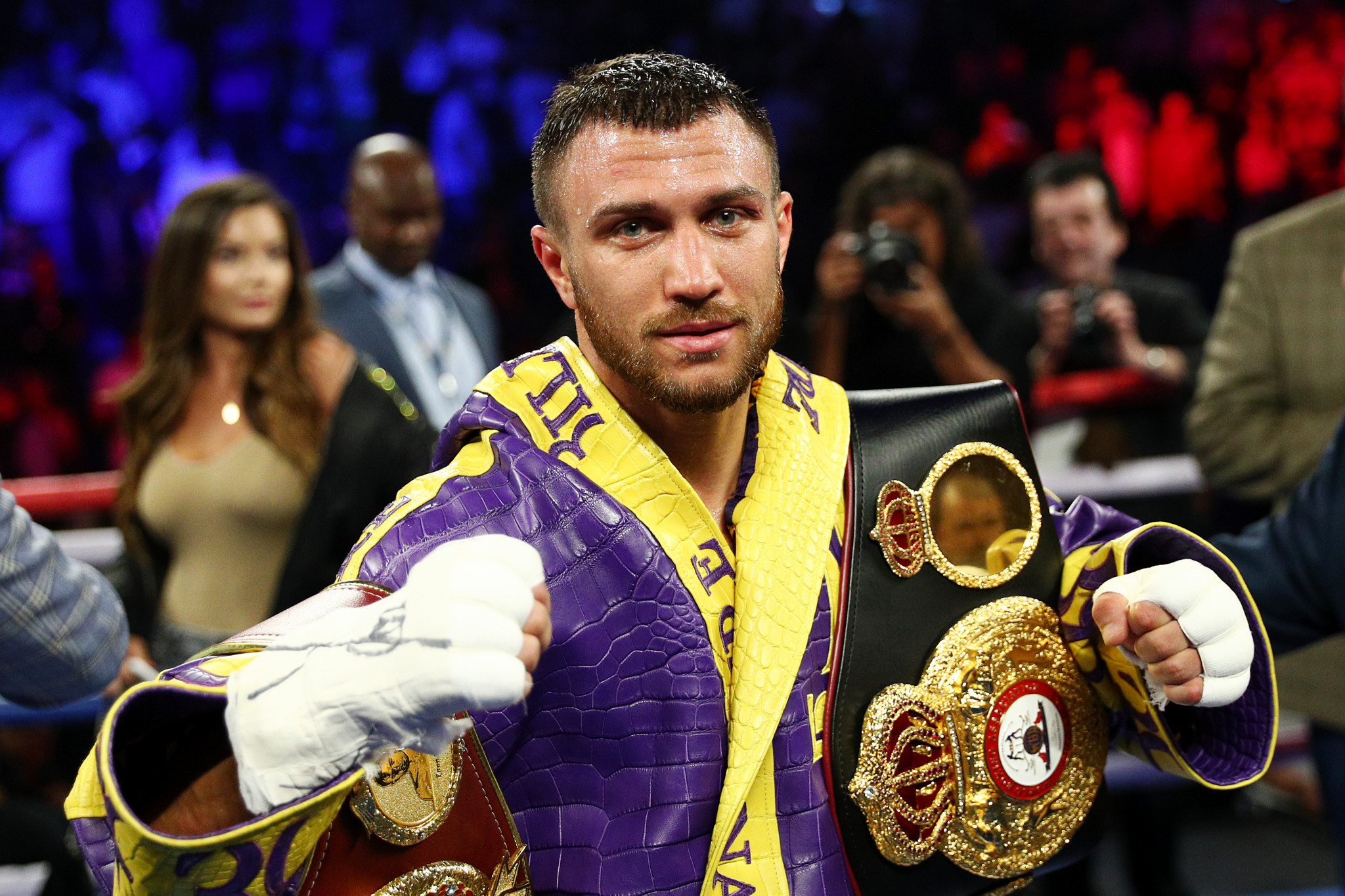 Vasyl Lomachenko is considered one of the finest pound-for-pound fighters in the world ©Getty Images