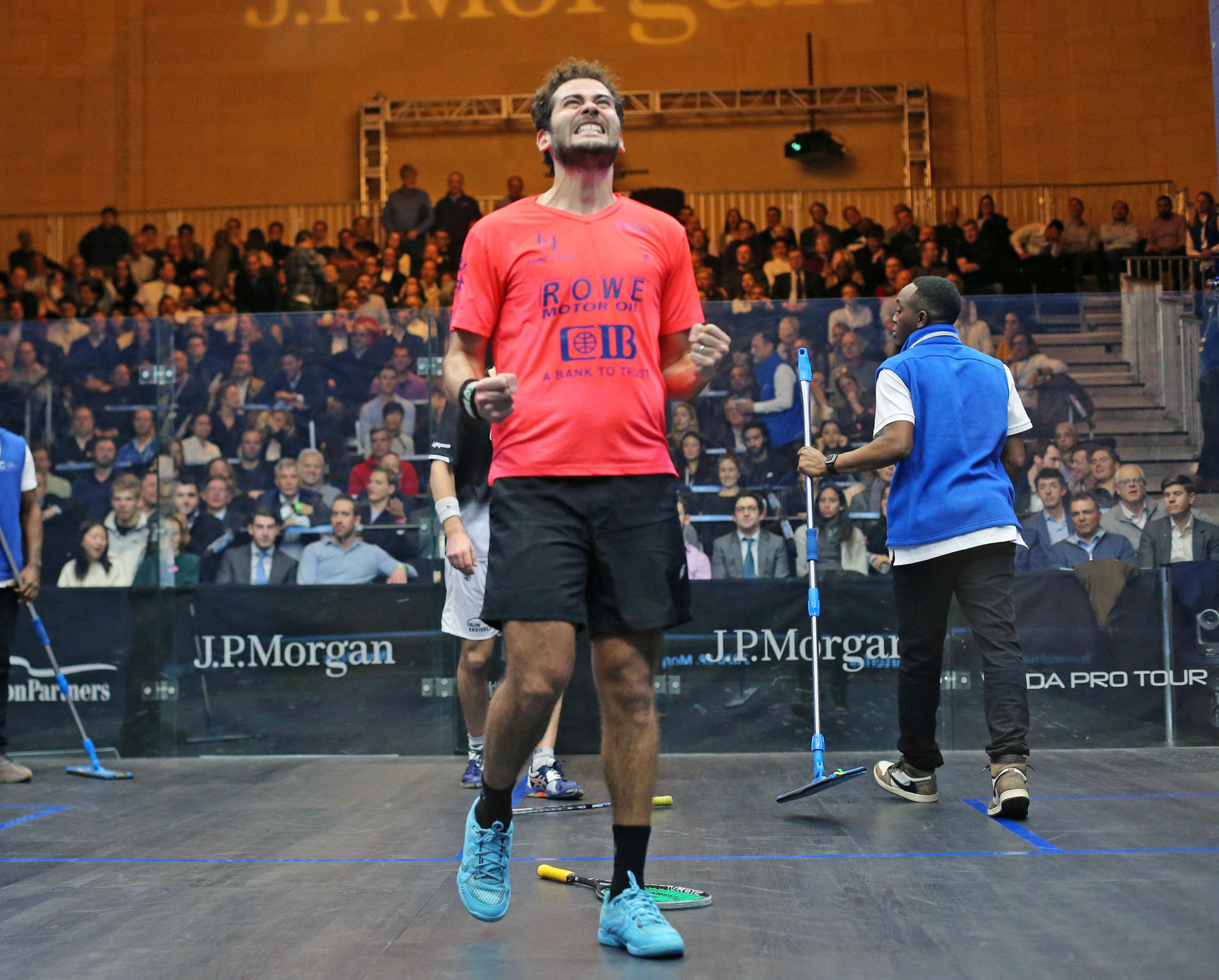 Top four seeds all reach men's semi-finals at PSA Tournament of Champions