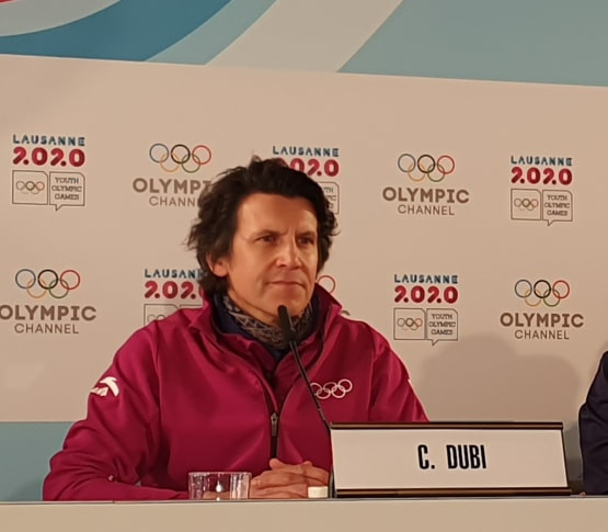 Senior IOC official Christophe Dubi praised Lausanne 2020 at the halfway stage ©ITG