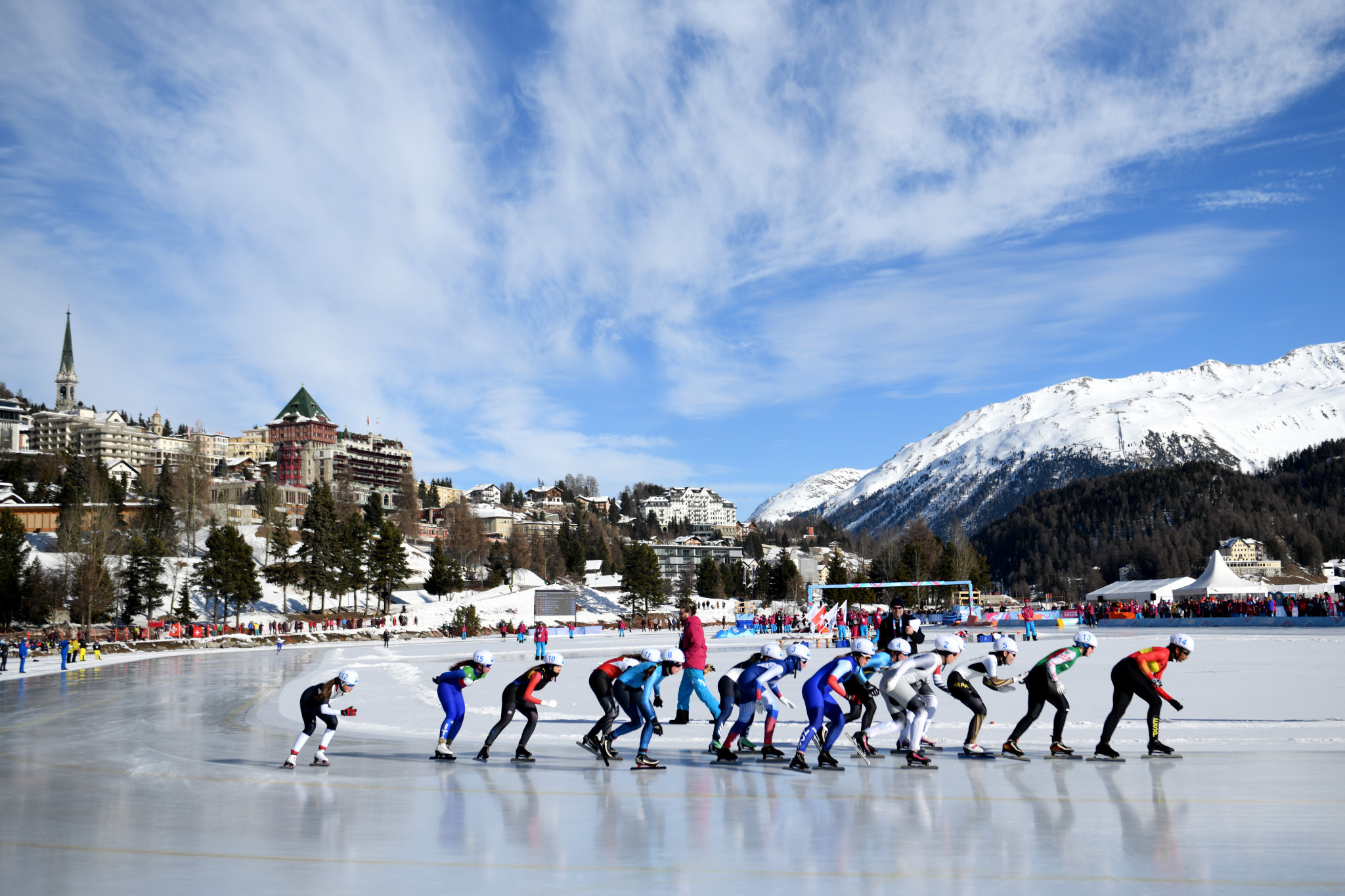 The IOC executive director for the Olympic Games said Lausanne 2020 had been a resounding success ©Getty Images
