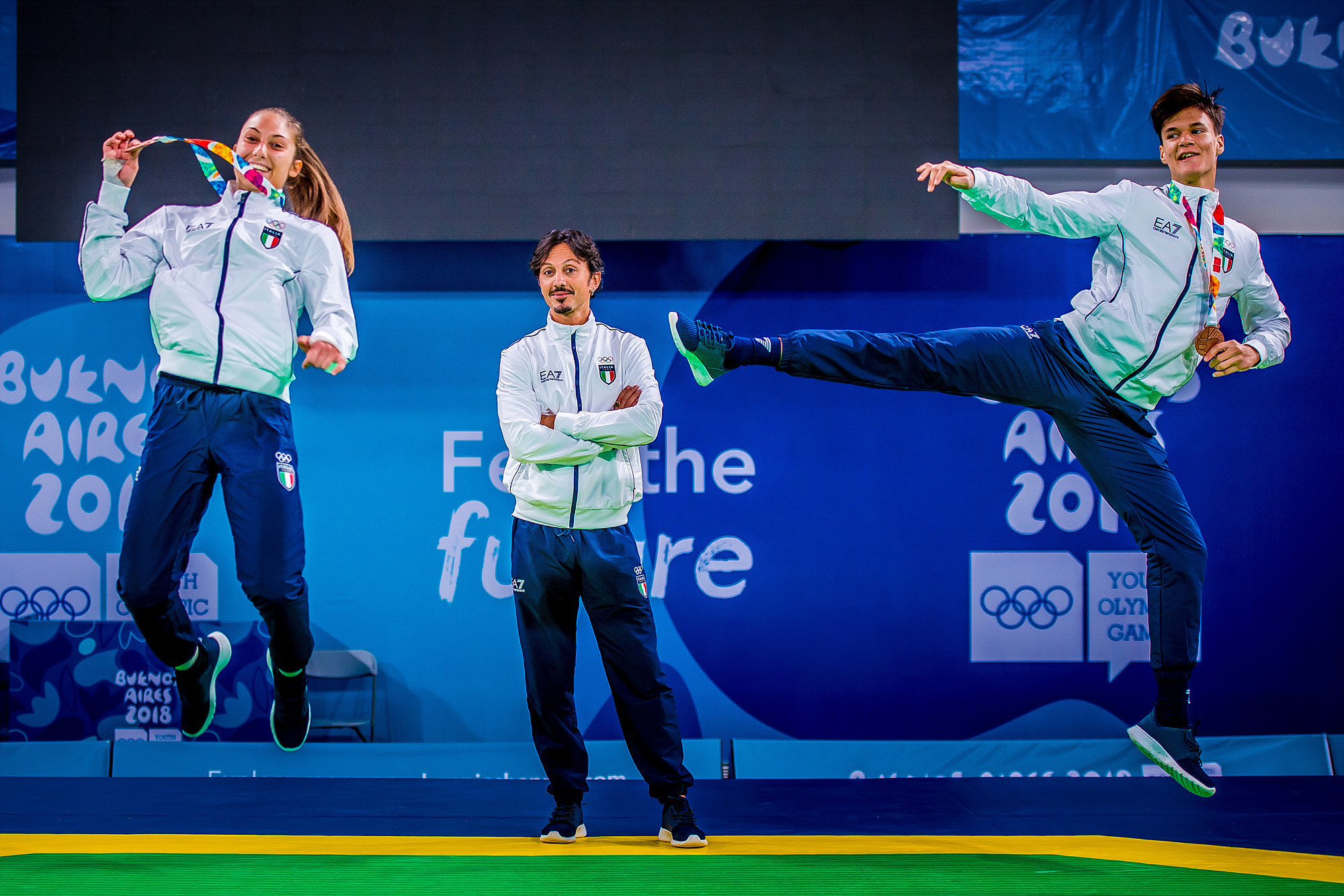 A total of five individual weight categories for male and female athletes were contested at the 2018 Summer Youth Olympic Games in Buenos Aires ©World Taekwondo