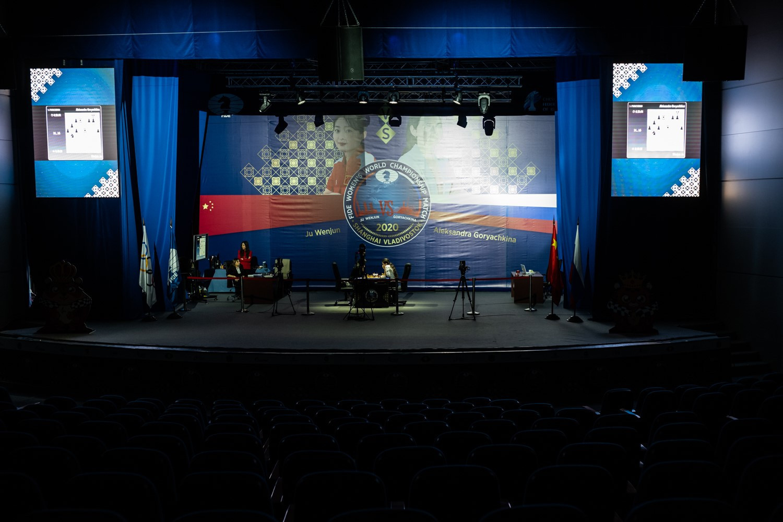 Women's World Chess Championship still level after first game in Vladivostok