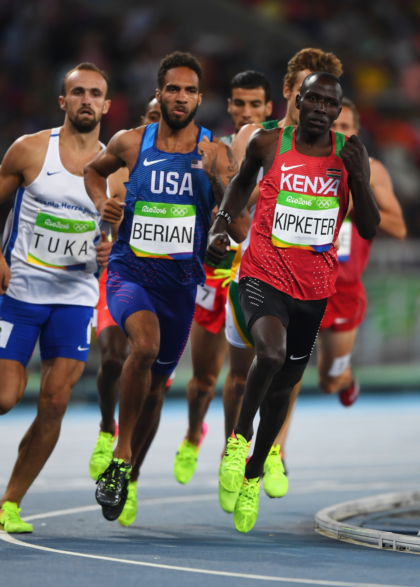 Former world junior 800m champion joins list of suspended Kenyans