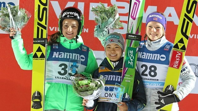 Takanashi leaps to success at opening women's FIS Ski Jumping World Cup event of season