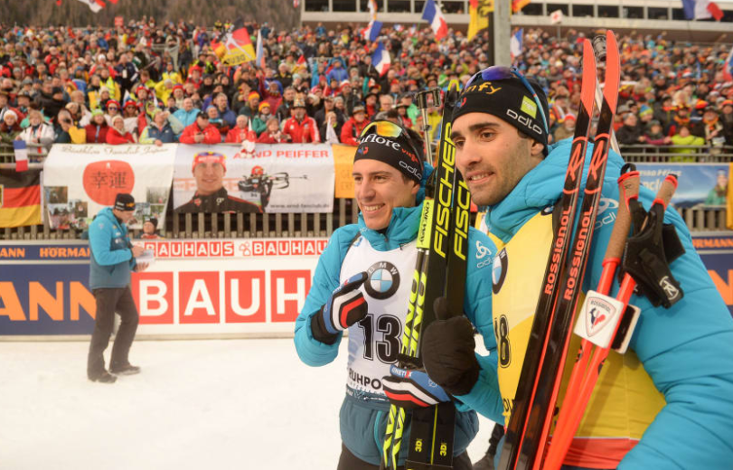 Sprint king Fourcade on top again at IBU World Cup in Ruhpolding