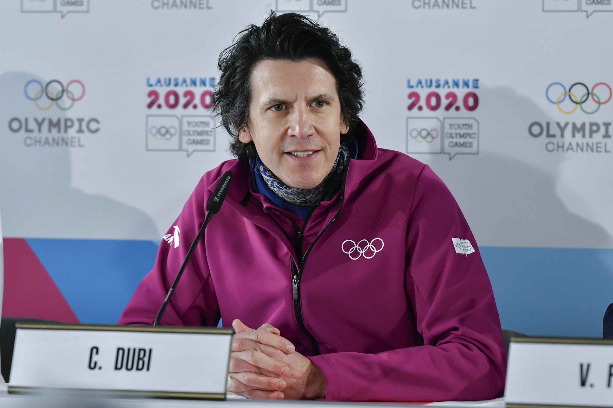 IOC executive director for the Olympic Games Christophe Dubi praised Lausanne 2020 at the halfway stage ©IOC