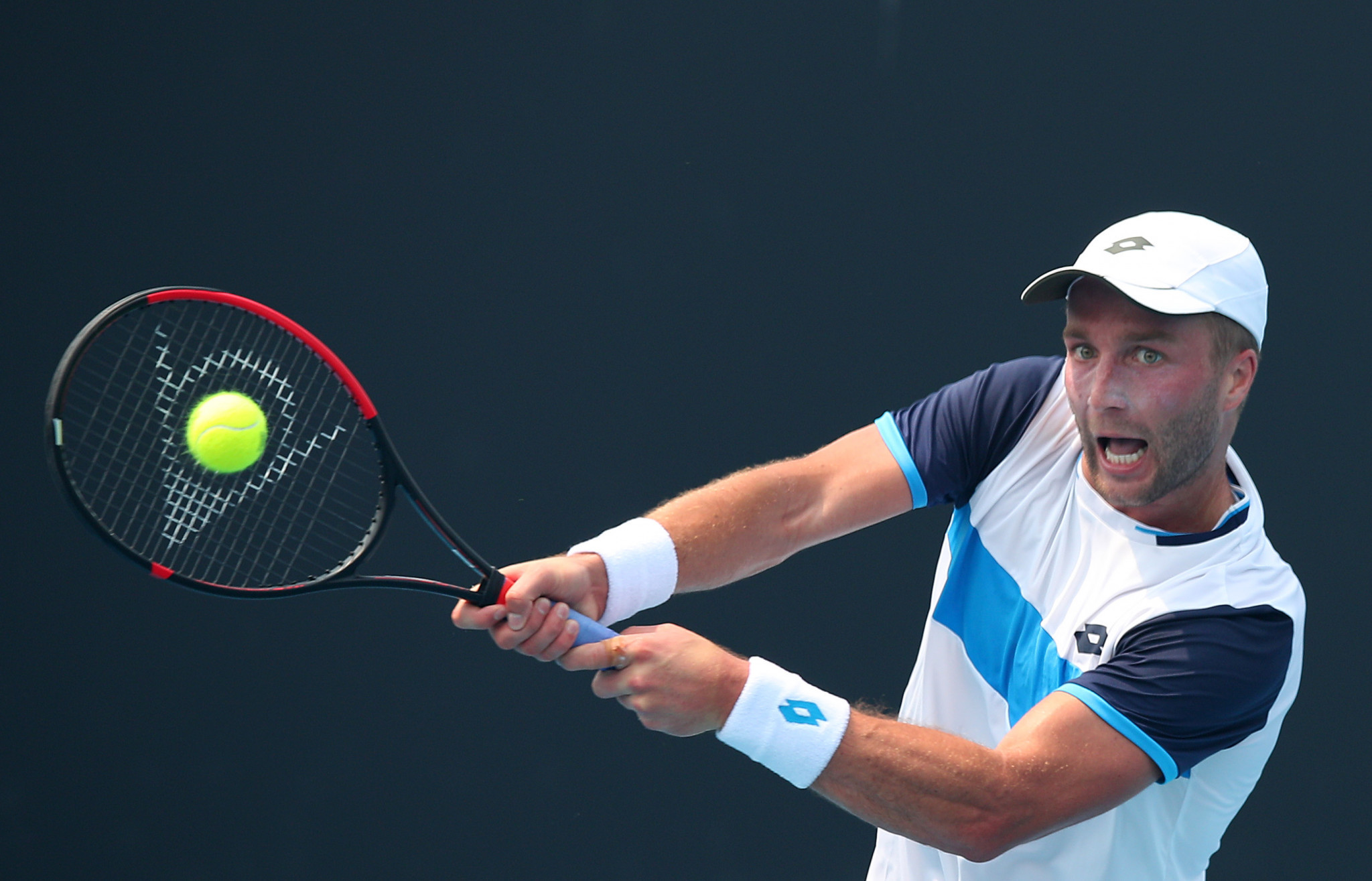 Britain's Liam Broady has been extremely outspoken about the conditions in Melbourne ©Getty Images