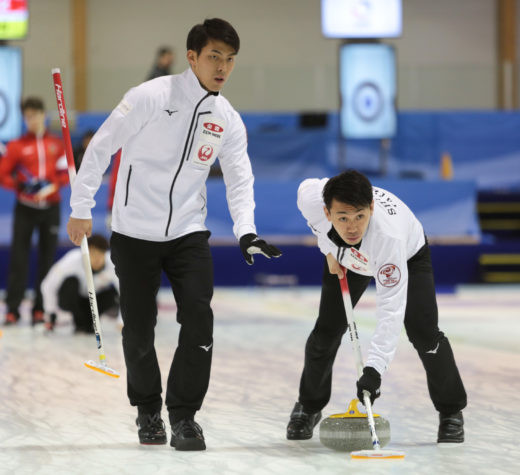 The fifth round-robin session was held in the men's event ©WCF