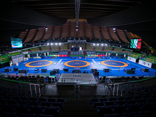 Gold medals split seven ways on day two of UWW Ranking Series in Rome
