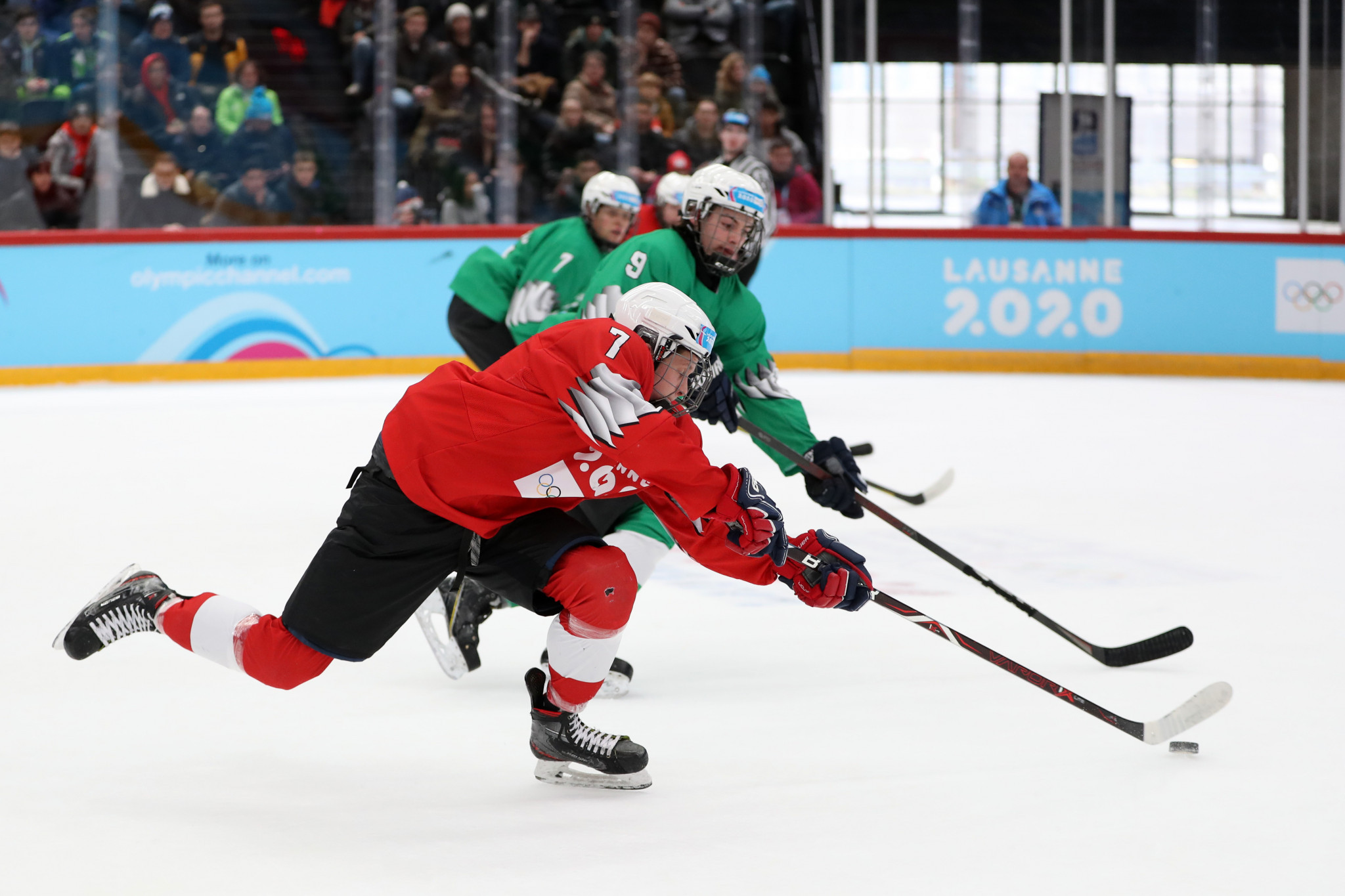 The new twist on ice hockey could be a thing of the future ©Getty Images