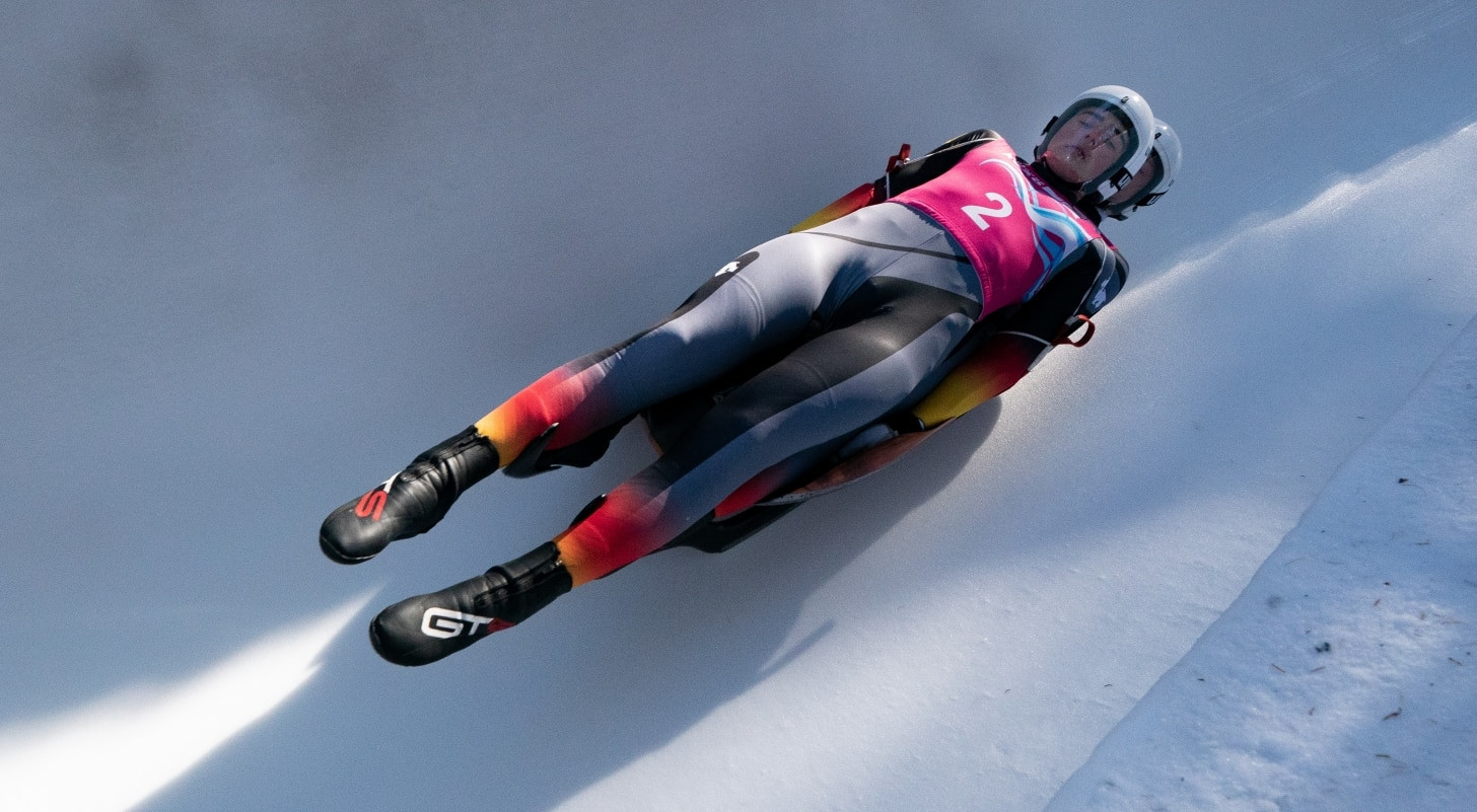 German double opens luge competition at Lausanne 2020
