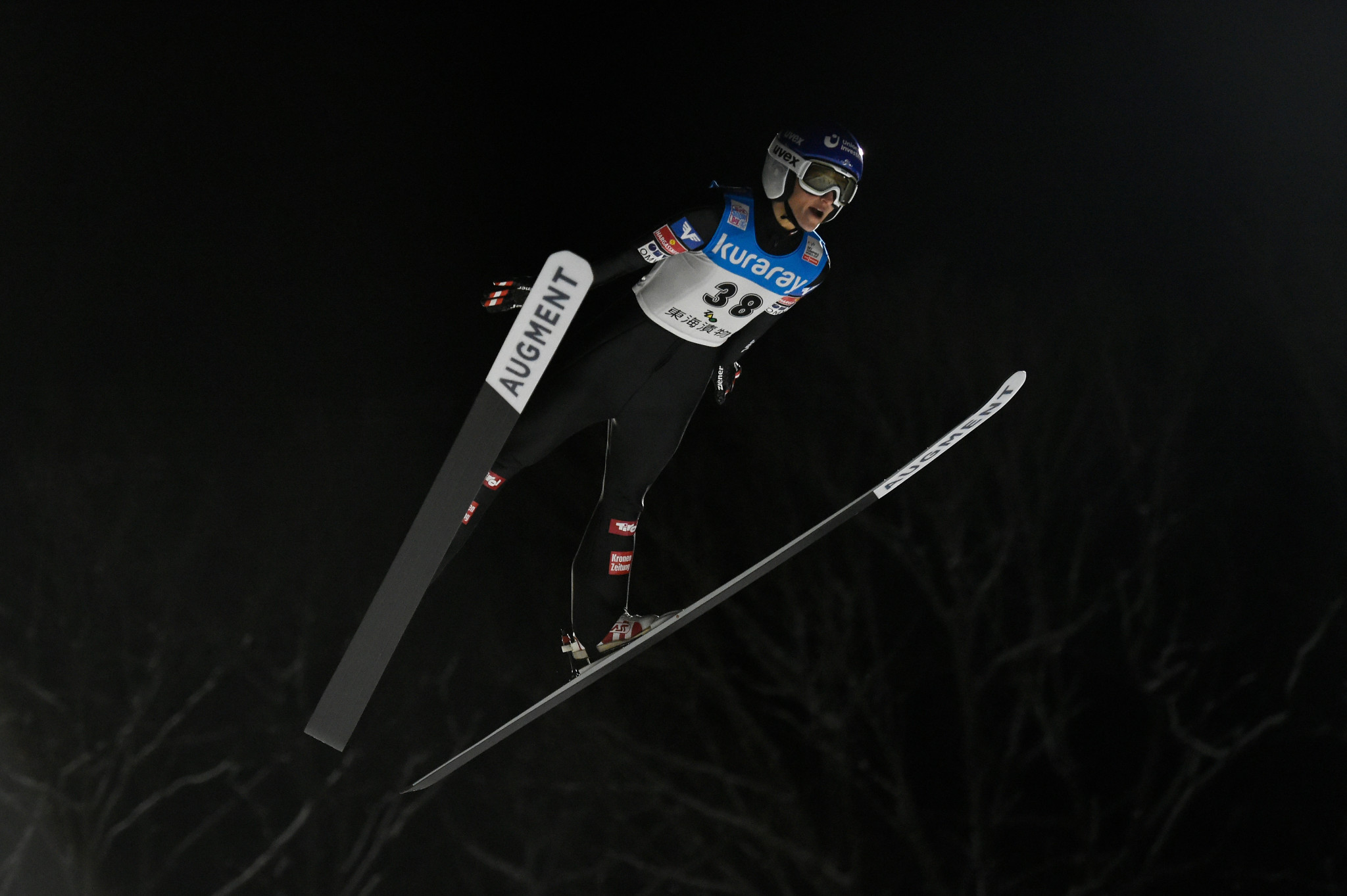 Austria's Eva Pinkelnig is in the form of her life on the FIS Ski Jumping World Cup tour ©Getty Images