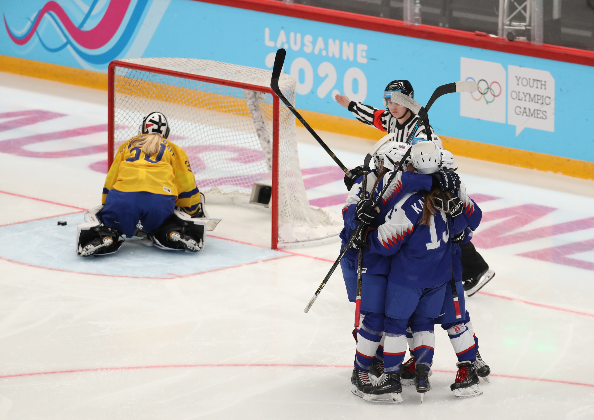 The preliminary stages of ice hockey competition began ©Getty Images