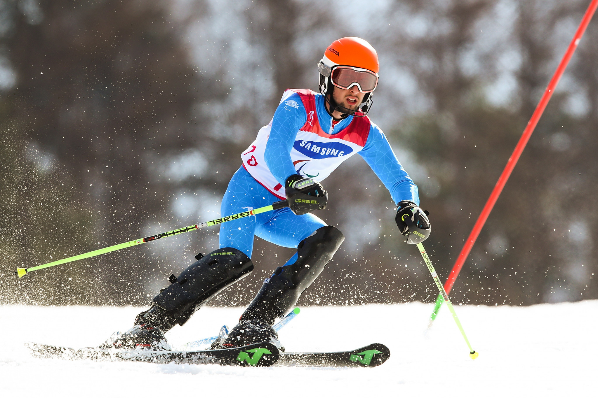 Bertagnolli completes hat-trick at World Para Alpine Skiing World Cup
