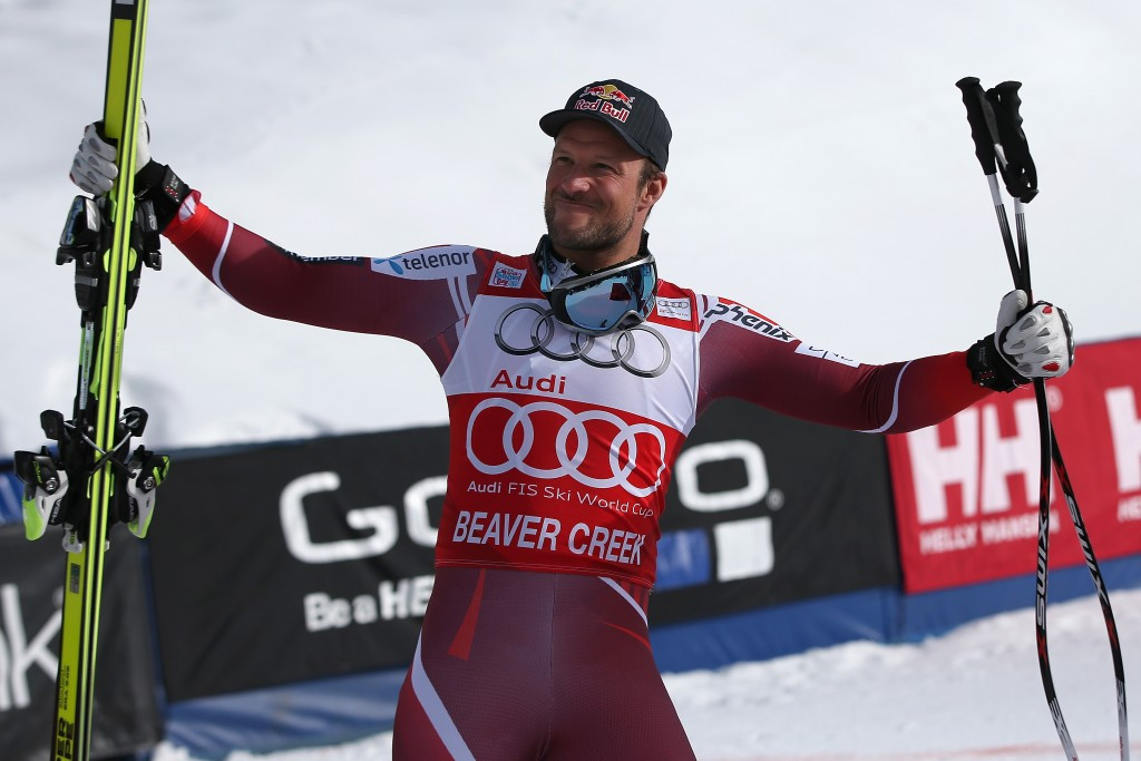Svindal and Vonn dominate on downhill day at Alpine Skiing World Cup