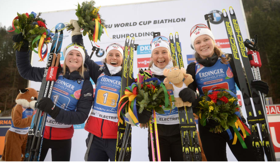 Norway continue run of relay success at IBU World Cup in Ruhpolding