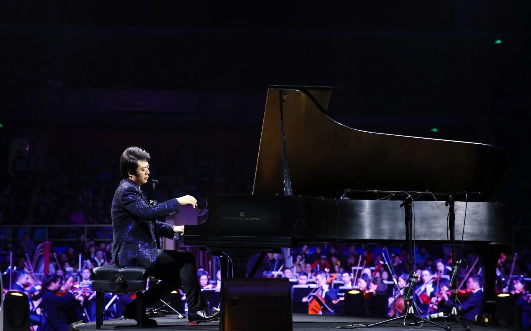 Lang Lang performed a number of recitals at the Sichuan Provincial Gymnasium ©Chengdu 2021