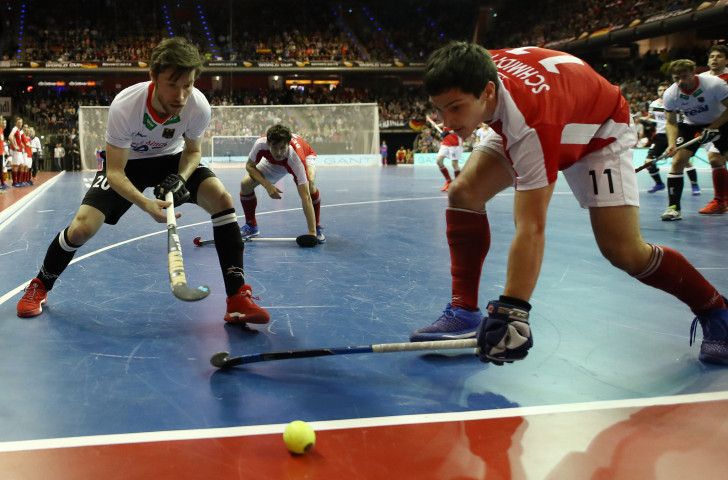 Defending champions Austria have also made a good start at the Men's EuroHockey Indoor Nations Championship in Berlin ©Getty Images