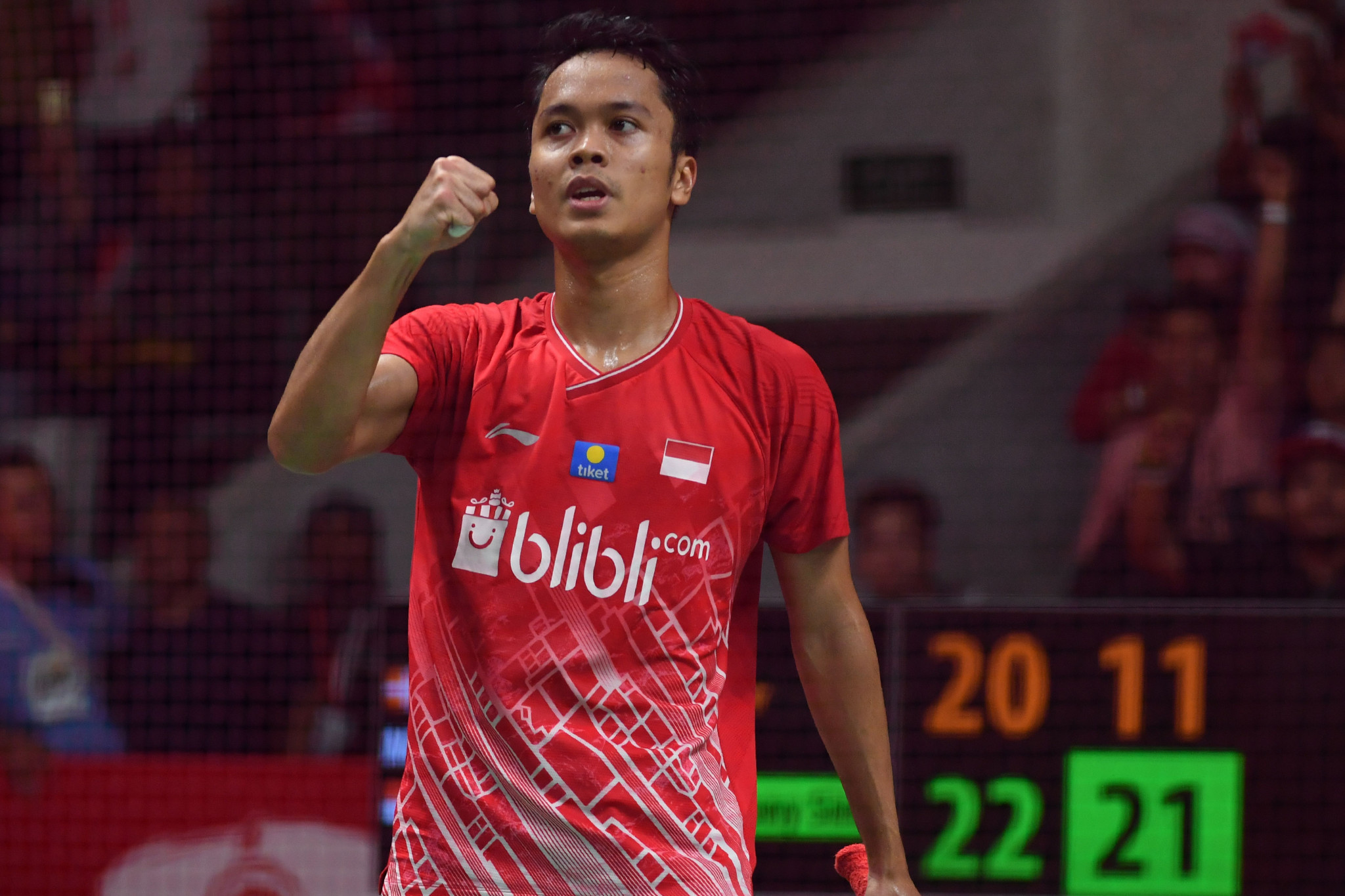 Home player Ginting to face defending champion Antonsen in BWF Indonesia Masters final