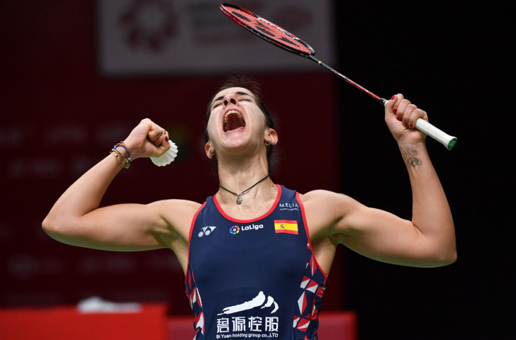 Spain's Rio 2016 champion Carolina Marin gets the winning feeling again after reaching tomorrow's women's singles final at the BWF Indonesia Masters in Jakarta ©Getty Images