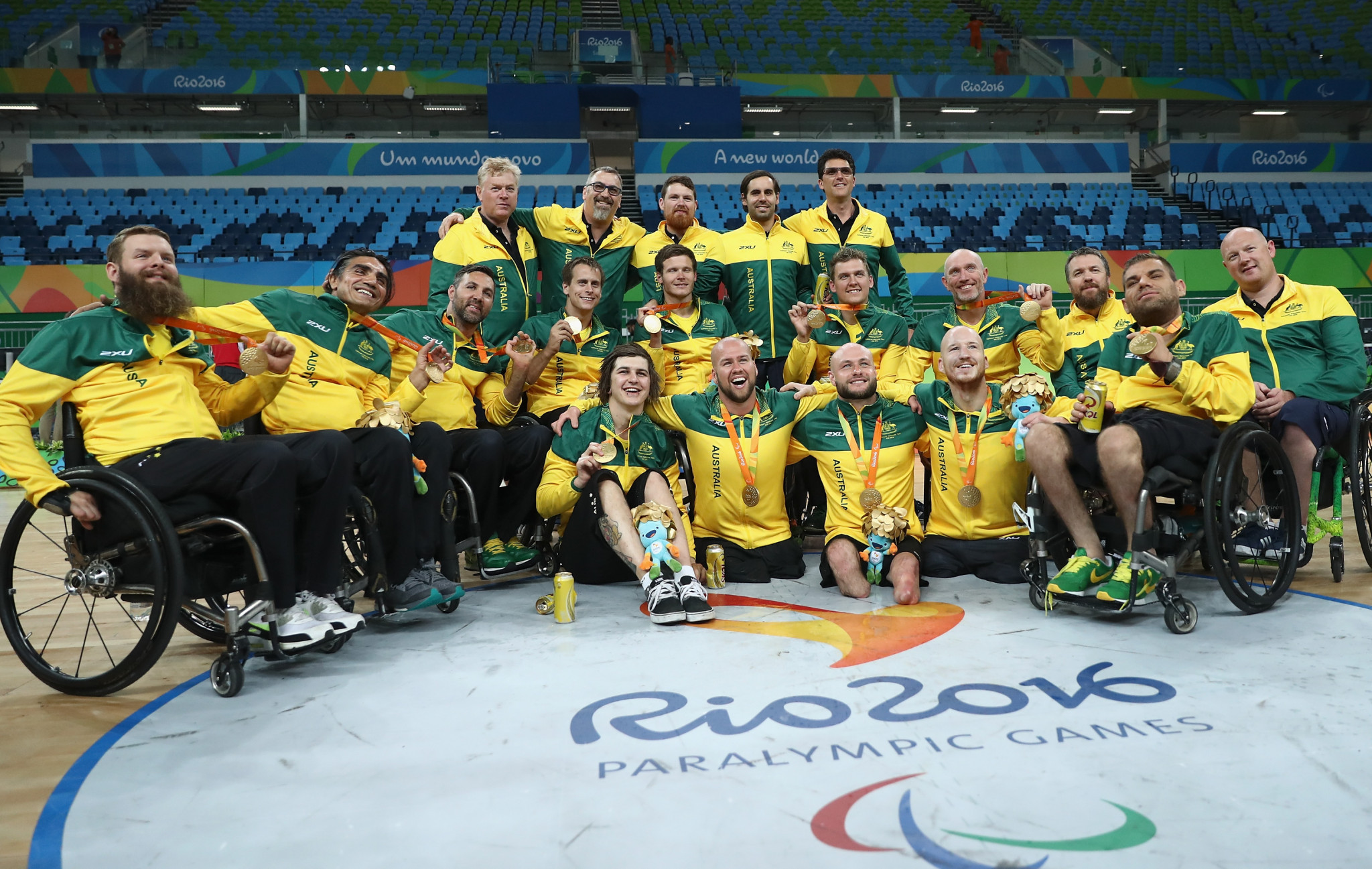 Australia will be chasing a record third consecutive Paralympic Games gold medal in wheelchair rugby at Tokyo 2020, having won at London 2012 and Rio 2016 ©Getty Images