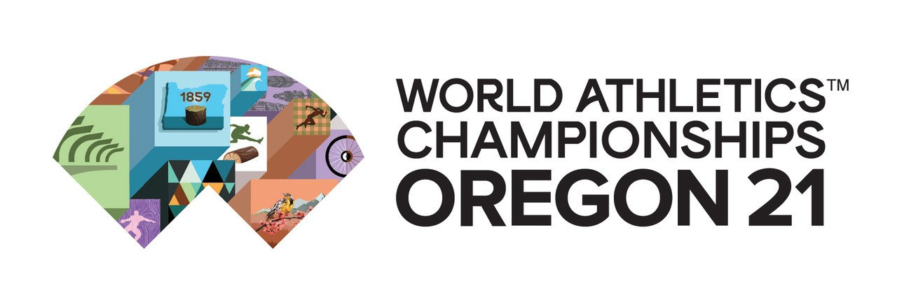 The logo for the 2021 World Athletics Championships has been officially launched ©Oregon 2021