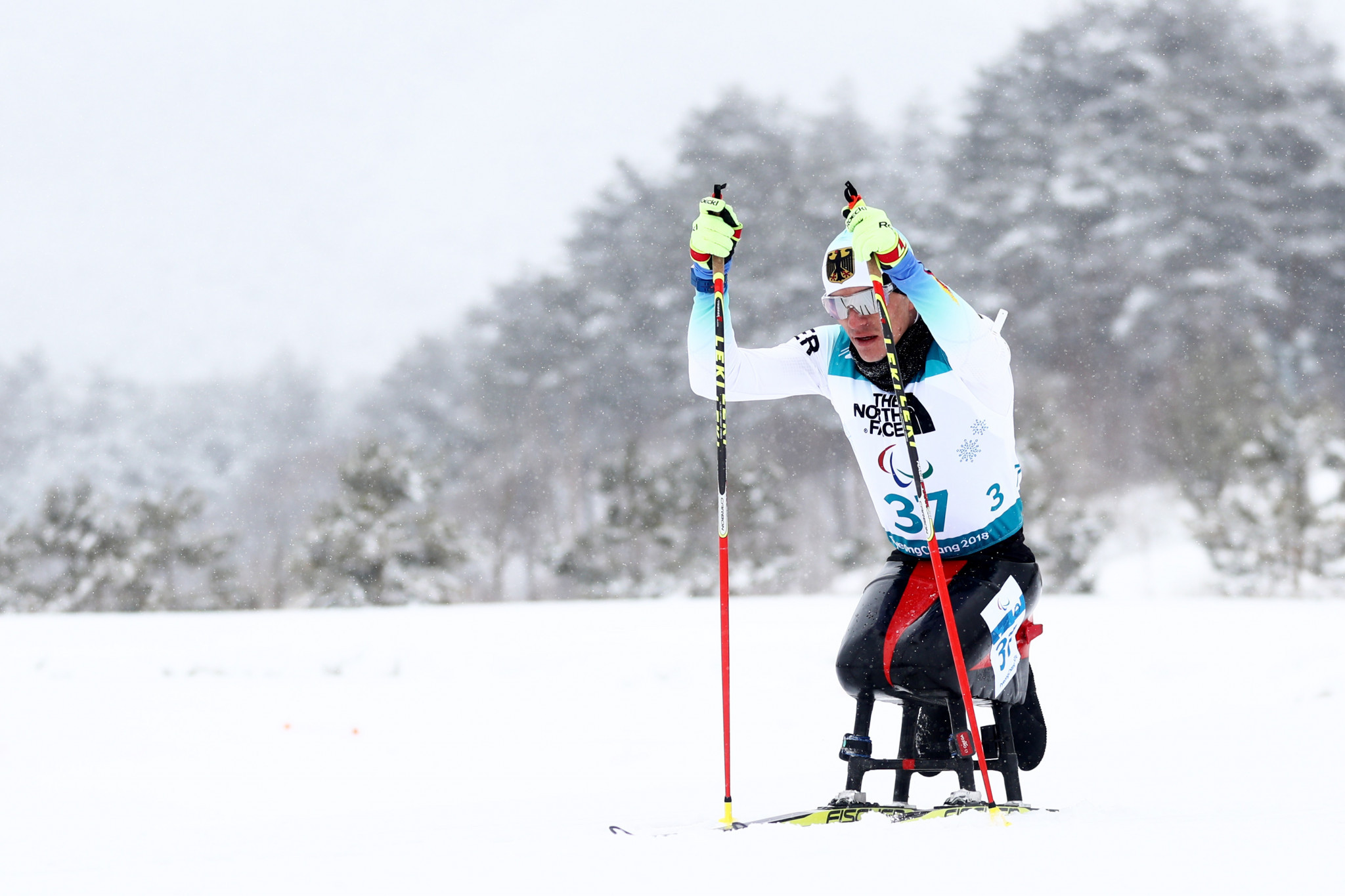 Hosts Germany dominate sitting, as biathlon action continues at World Para Nordic Skiing World Cup