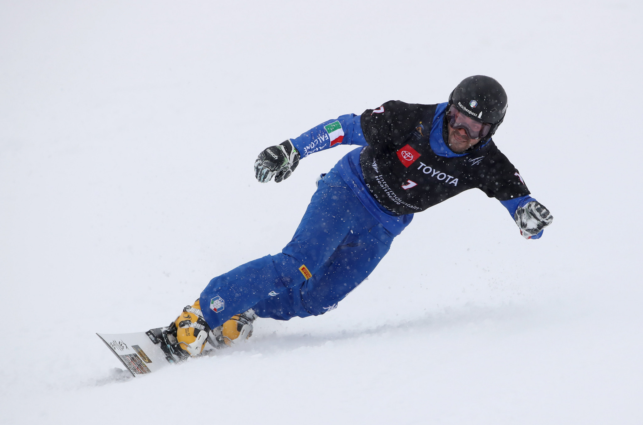 Italy's Coratti repeats win in men's parallel giant slalom at FIS Snowboard World Cup in Rogla