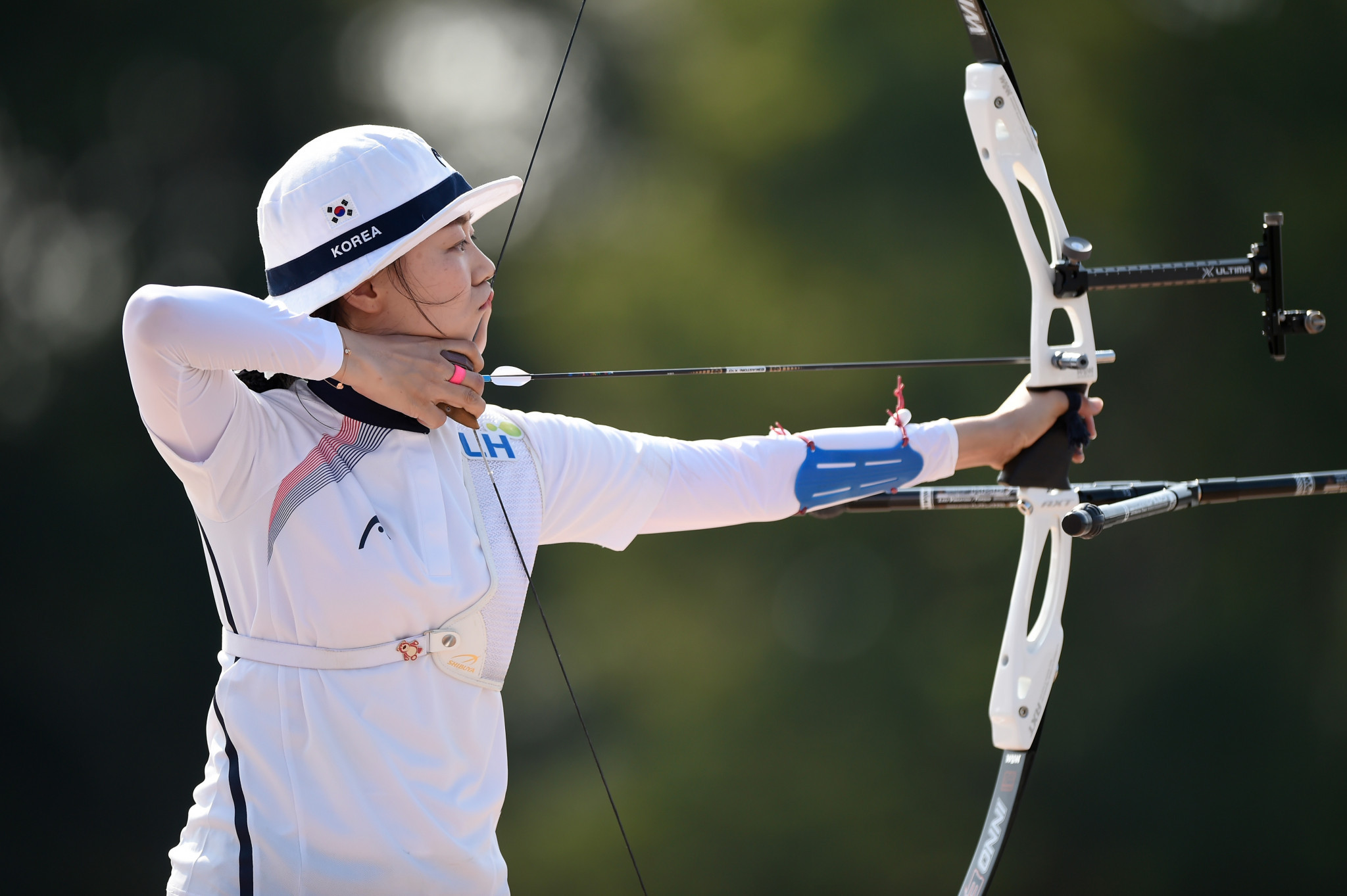 South Korea's Chang Hye-jin is through to the women's recurve final ©Getty Images