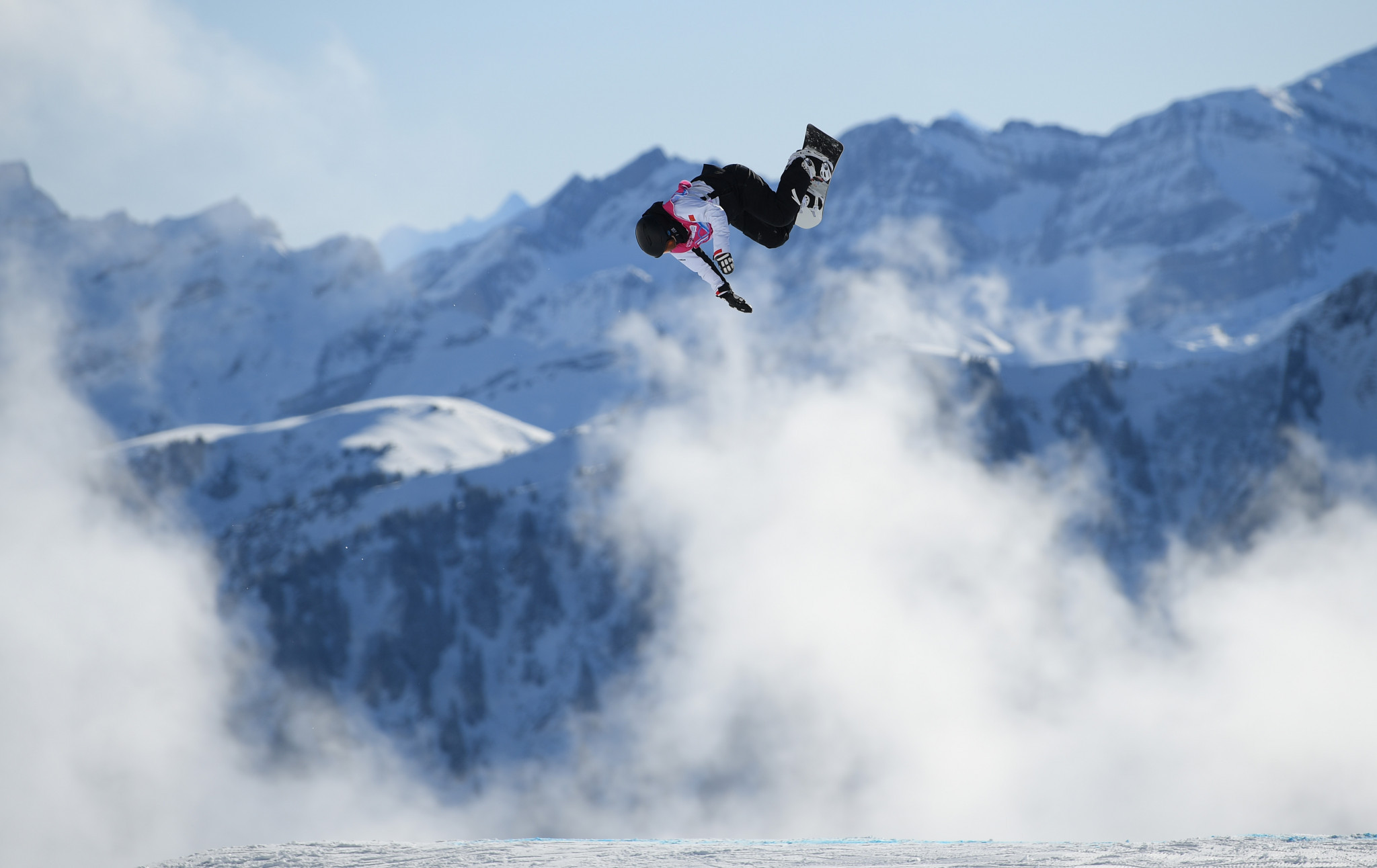 Leysin hosted its first competitions at Lausanne 2020 today ©Getty Images