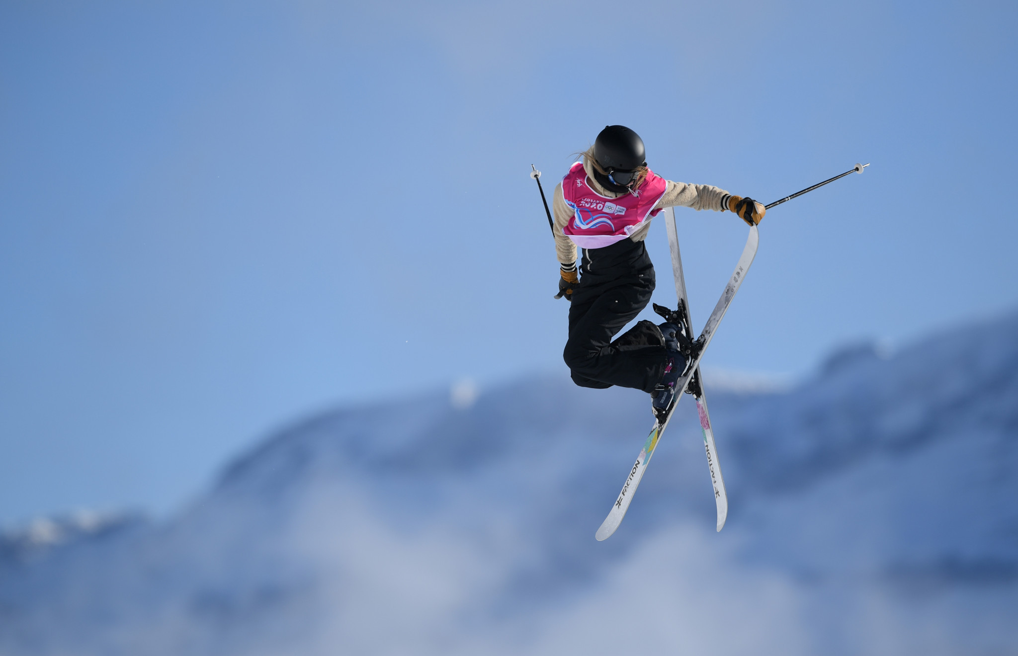 World halfpipe champion Kelly Sildaru claimed the slopestyle title ©Getty Images