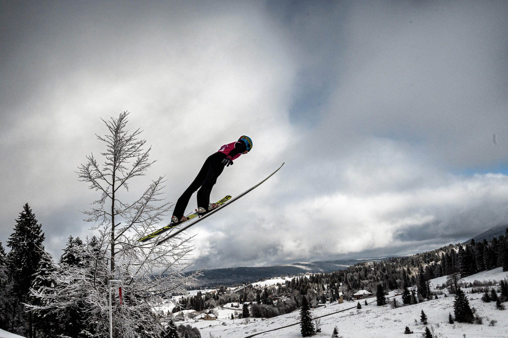 The two individual Nordic combined events were held on day nine ©Getty Images