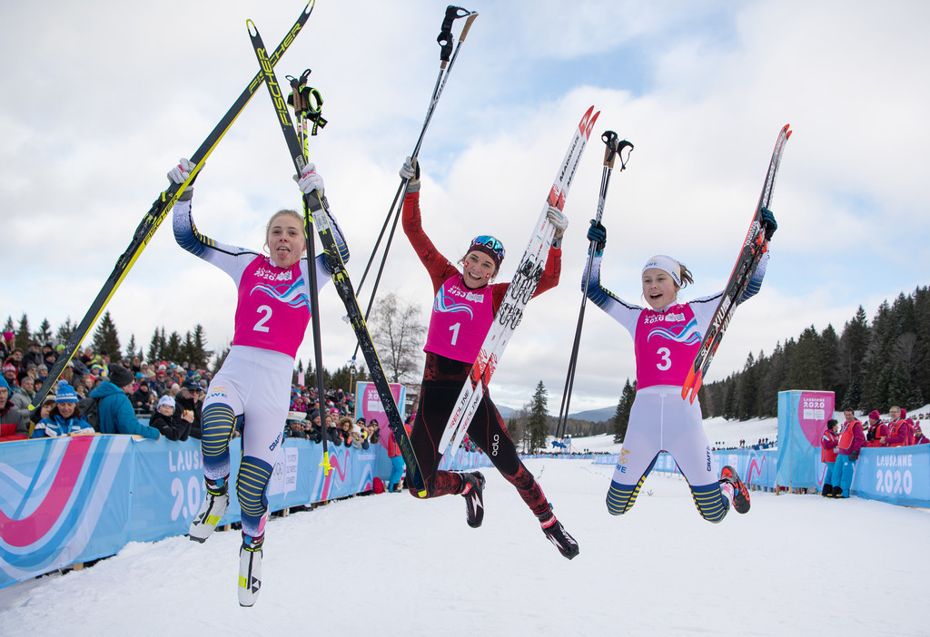Switzerland enjoyed success in the cross-country as they overtook Russia on the medals table ©OISphoto