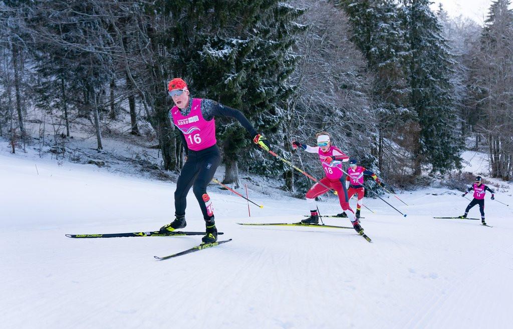 Athletes battled a tough course at Les Tuffes Nordic Centre ©OISphoto