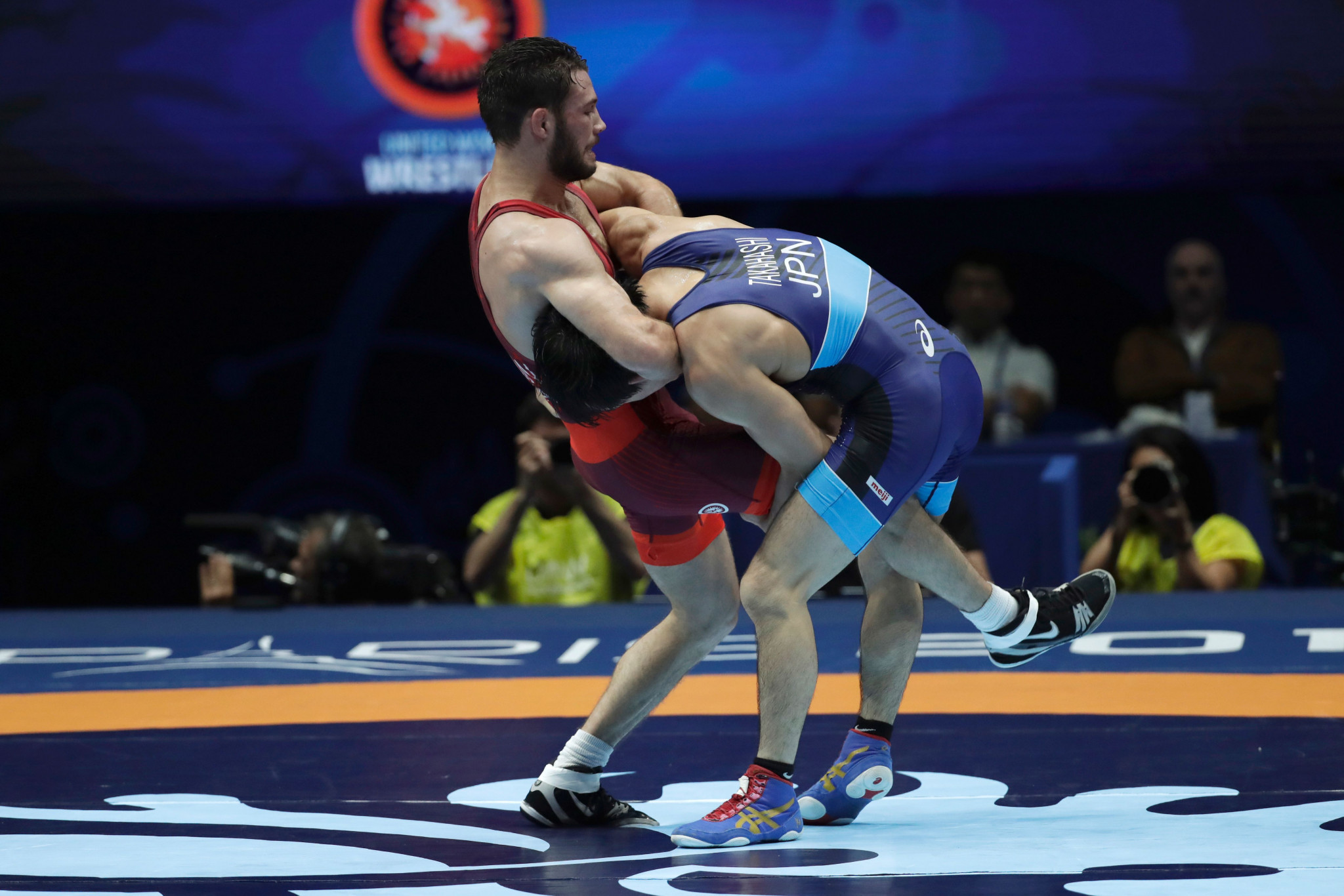 United States end on a high at UWW Ranking Series in Rome
