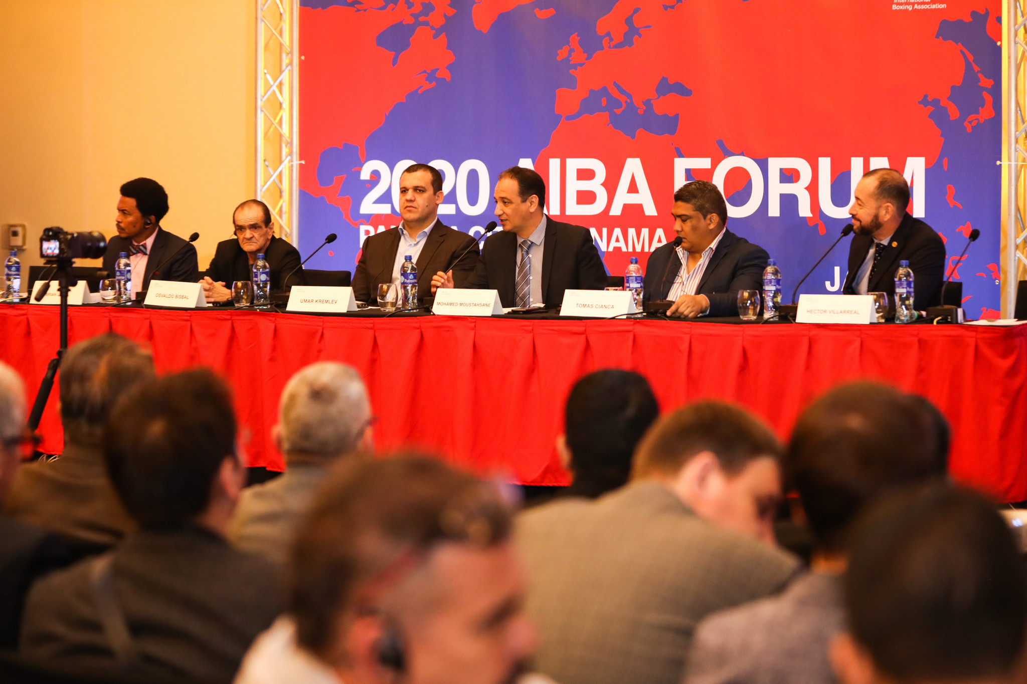 The AIBA Continental Forums, the first of which is currently taking place in Panama City, are intended to create fruitful dialogue with National Federations and Confederations ©AIBA