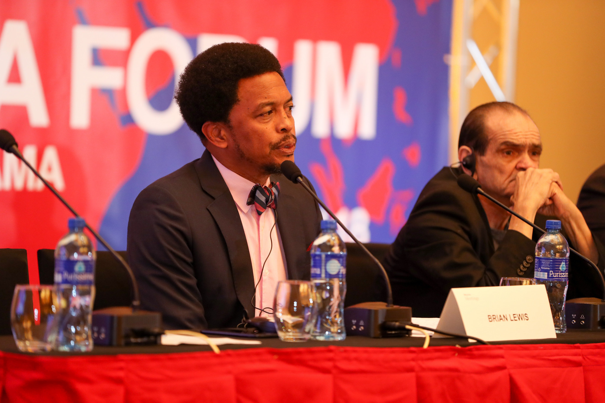 Trinidad and Tobago Olympic Committee President Brian Lewis advised National Federations on how to manage the renovation of Olympic boxing ©AIBA
