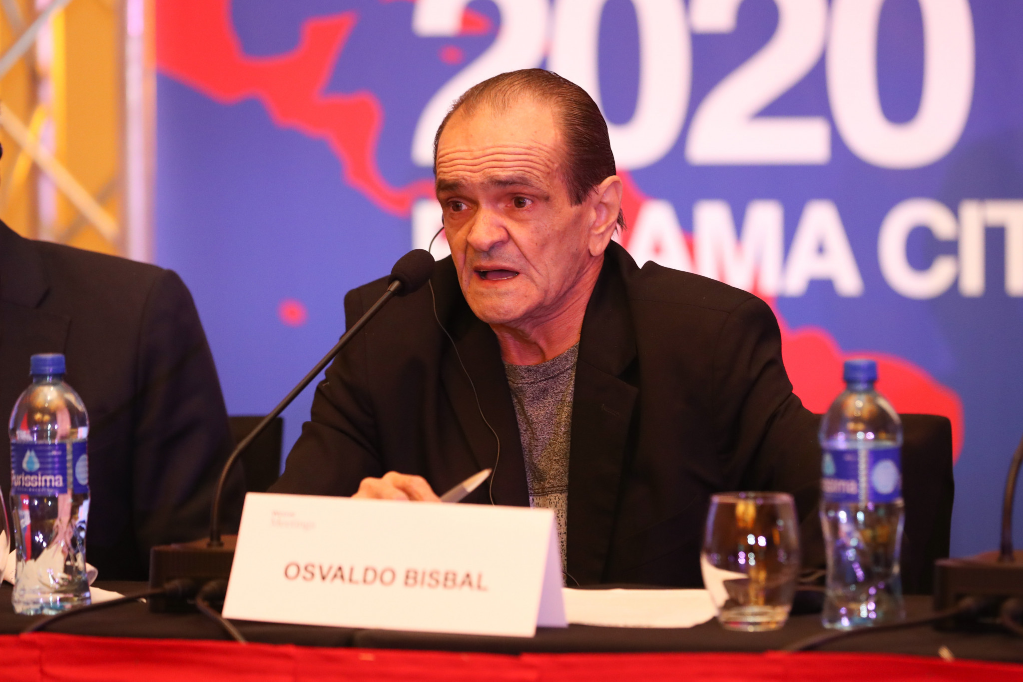 American Boxing Federation President Osvaldo Bisbal was another to welcome delegates ©AIBA