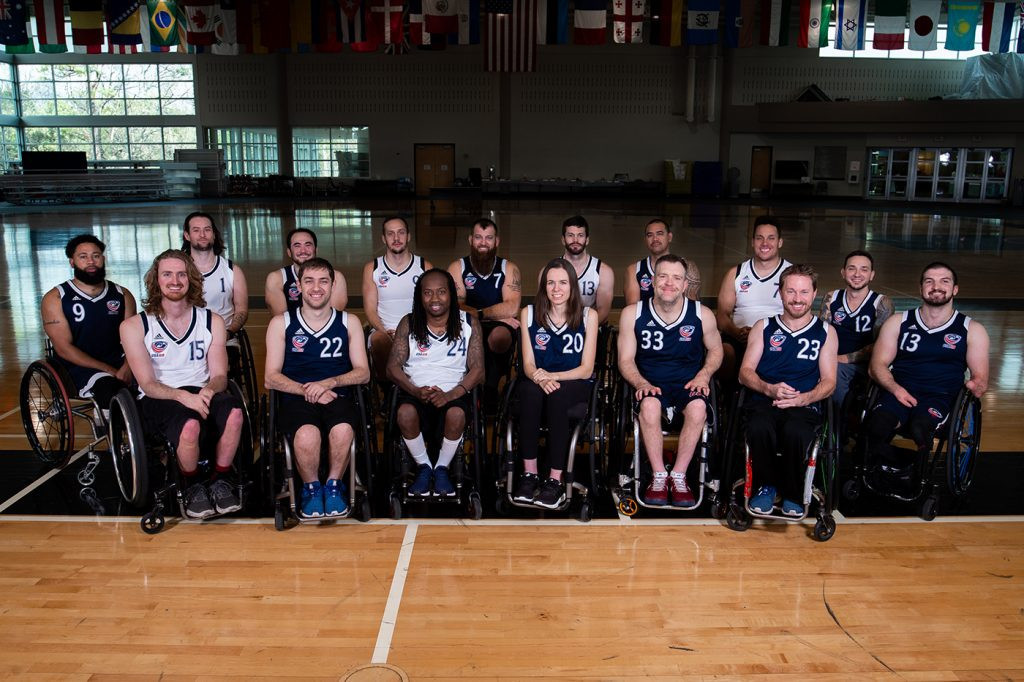 Dunn aims for history as first female Paralympian in American wheelchair rugby